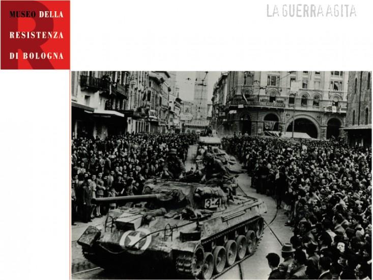 Bevrijding van Bologna in 1945