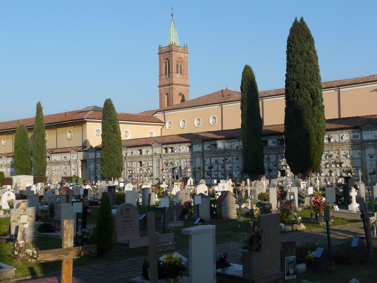 Bologna Begraafplaats Certosa bezienswaardigheden