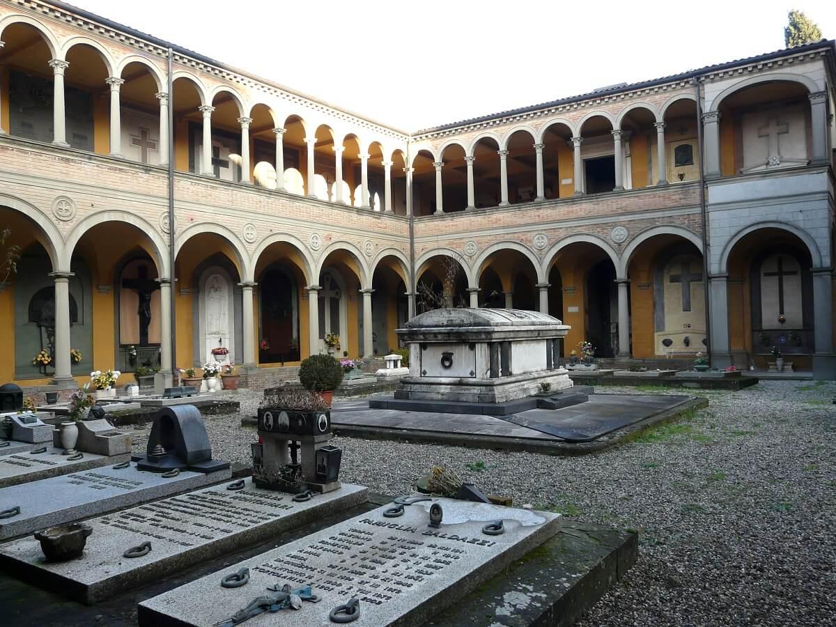 Begraafplaats Bologna Certosa bezienswaardigheden