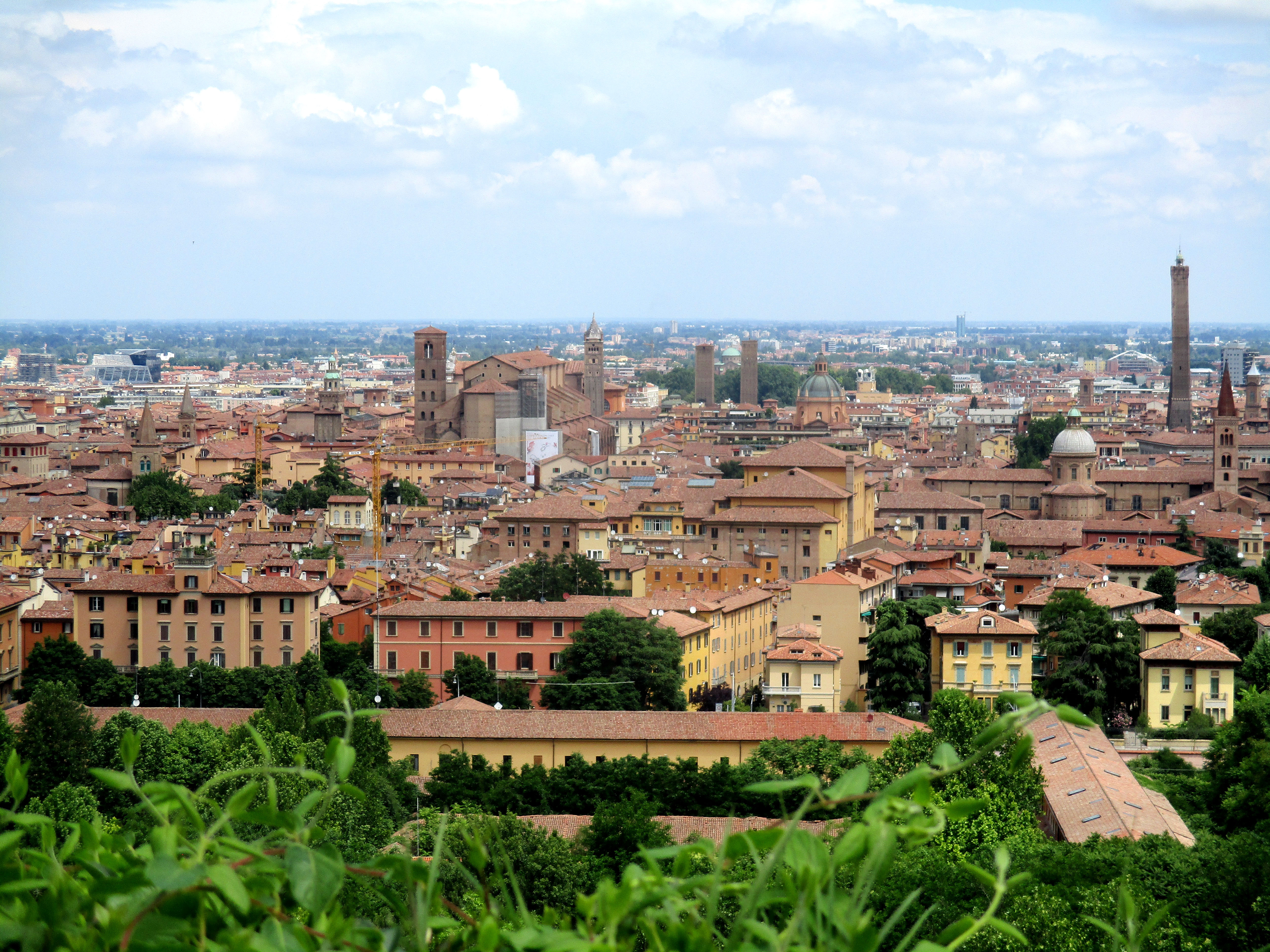 The Best of Bologna - Uitzicht met torens