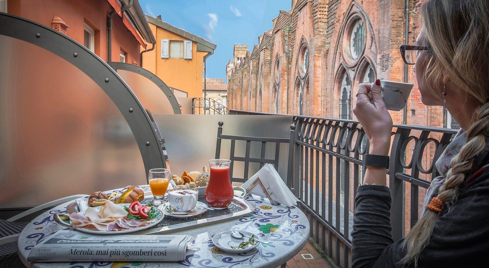 Bologna overnachtingen Art Hotel Commercianti