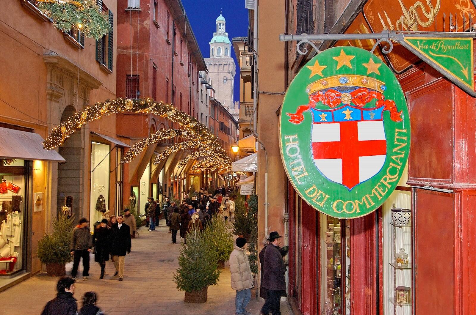 Luxe overnachten - Slapen in Bologna Commercianti