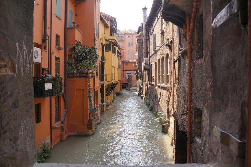Bologna water - grachten - La finestrella