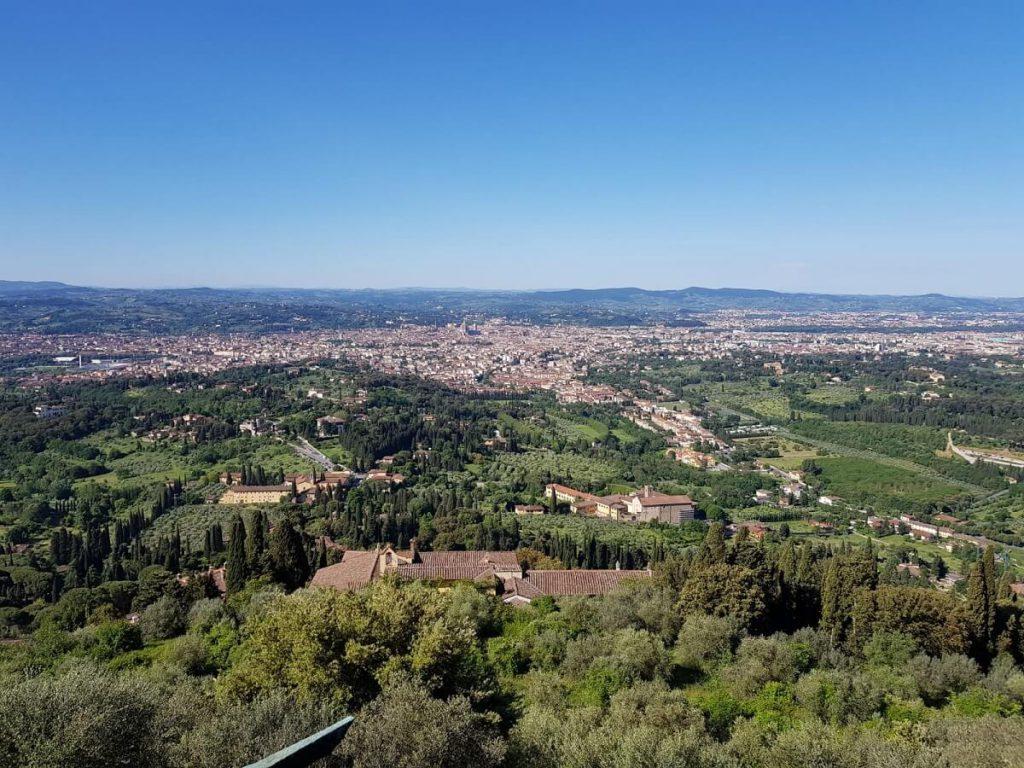 Uitzicht over la Bella, zoals Florence liefkozend wordt genoemd