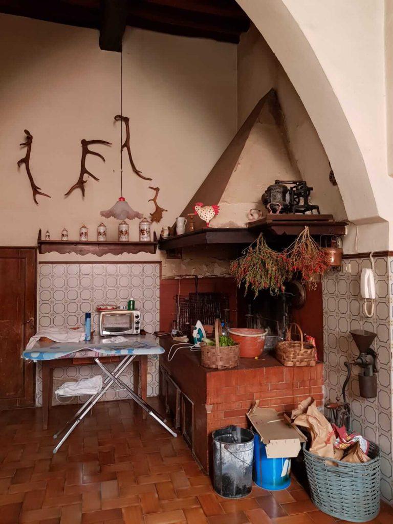 Koken en slapen in Fattoria Tagliaferro