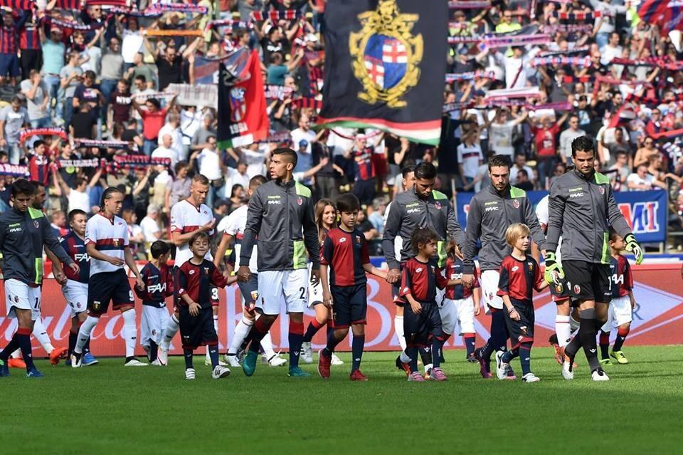 FC Bologna - voetbalwedstrijd